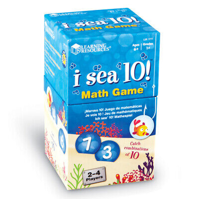 Learning Resources I Sea 10! Children's Number Bonds to 10 game