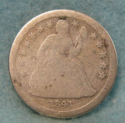 1841-O Seated Liberty Silver Dime  Better Date! * Circulated US Coin #643