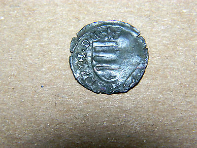 Scarce, medieval Hungary, silver denar. Nice dark toning, good surfaces.