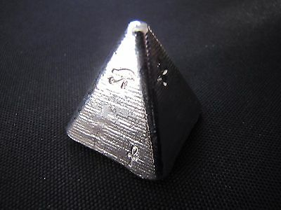 HACMint 5 oz 999+ Fine Silver EGYPTIAN PYRAMID Hand Poured ART BAR