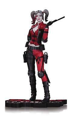 DC Comics Injustice 2 Harley Quinn Red, White, & Black Statue