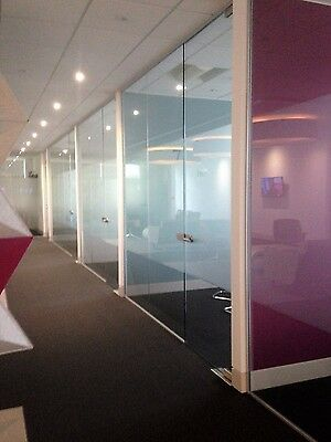 Fast Frameless Glass Partitioning at the best prices - Toughened Glass
