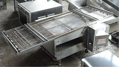 Lincoln Impinger 1301 Electric Pizza Conveyor Oven 208v 1 Phase Long Conveyor