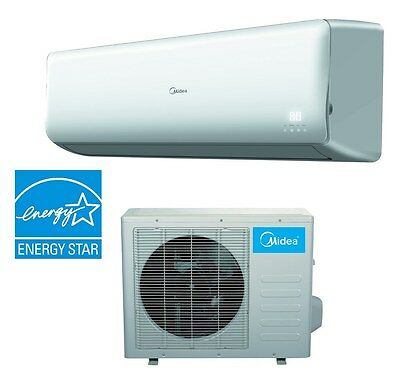 Midea  Mini-Split Inverter Air Conditioner and  Heat Pump 24000 Btu 19SEER