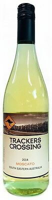 Trackers Crossing Moscato 2014 (12 x 750mL), SE AUS.