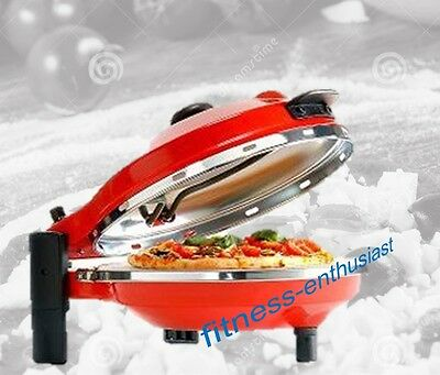 New Wave Pizza Maker Oven Electric Stone Base 280 Celcius Temp Cooks in 5 minute