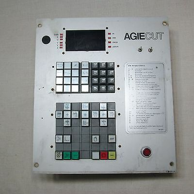Agiecut Agie-Cut Control Panel Cdc-100 726302-Ua Untested