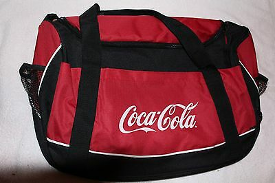 Coca-Cola Advertising Duffle, Gym,travel Tote. Red, Black And White Nwot