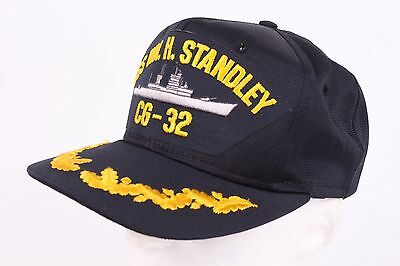Vtg Uss Wm. H. Standley Usn Navy Cap Hat One Size