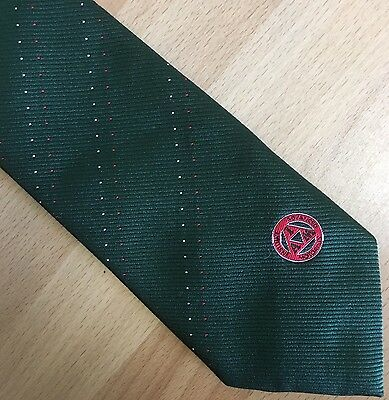 Gents IAM Institute Advanced Drivers Logo Tie 1980s Immaculate New Condition
