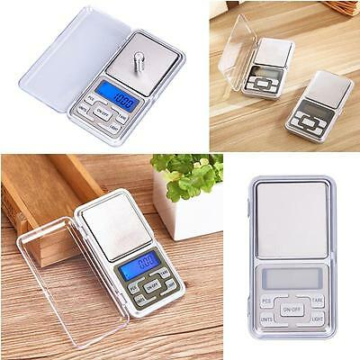 Pocket Digital Jewellery Scale Weight 200g x 0.1g 0.01g Balance Precise Gram RT