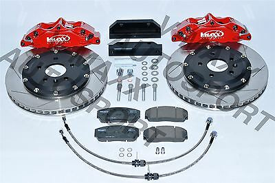 20 SB330 02X V-MAXX BIG BRAKE KIT fit SUBARU Impreza 2.0 Sti ATT PCD 5X100 01>05