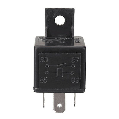 4 Pin 12V 30A Auto Relays For Aux Lights Horns Car Boat Van Motorbike HT