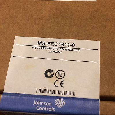 Johnson Controls MS-FEC1611-0 Metasys Field Equipment Controller NEW