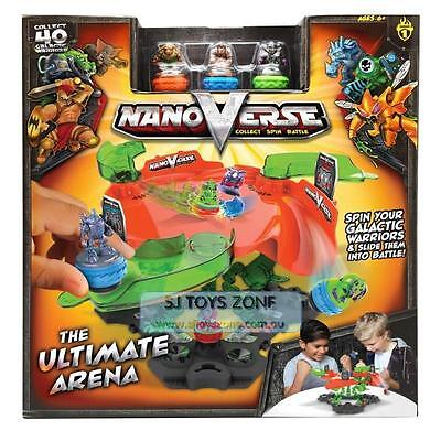 NanoVerse Kids Fighting Battle Spin Top Toy Ultimate Battle Arena Series 1