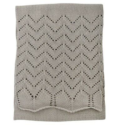 Silvercloud Baby / Child Nursery Cotton Shawl - Baby Grey