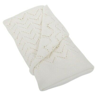 Silvercloud Baby / Child Nursery Cotton Shawl - Cream