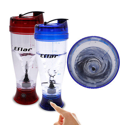 Electric Protein Milk Shake Drink Shaker Mixer Blender Sports Bottle Coffee Cup