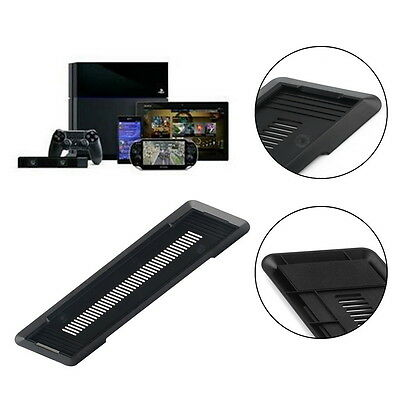 New Vertical Stand Holder Base for Sony PS4 PlayStation 4 in Black HT