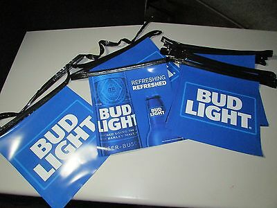 NEW Bud Light Refreshed Retro Iconic Beer String Banner Man Cave Budweiser T=20