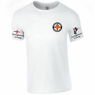 St Georges Day T Shirt England Proud English Tee World Cup 2018