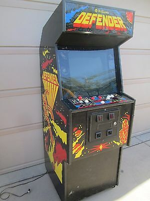 Defender 1980 Classic Arcade Video Game Made By Williams Electronics Chicagousa