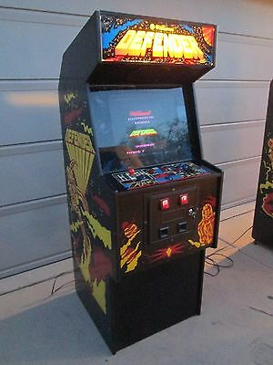 #2 Defender 1980 Classic Arcade Video Game Made By Williams Electronics Chicago