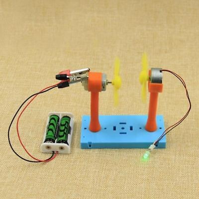 Physical Science Electrical Experiment Kits DIY Wind Driven Toy Science Toy