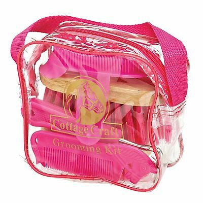 Cottage Craft Equestrian horse riding Junior ponies Grooming Kit Long lasting