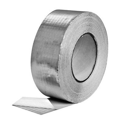 """Reinforced Aluminum Foil Tape 2"""" and 4"""" - 50 meters - for insulation ventilation"""