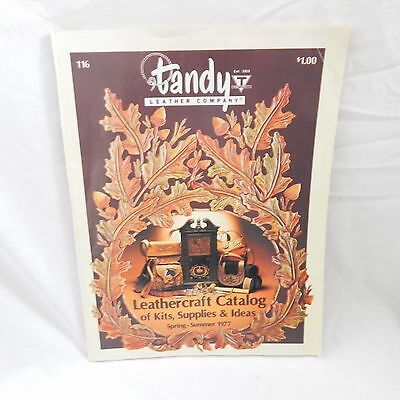 Tandy Leather Company Leathercraft Catalog Spring Summer 1977 Vintage