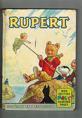 RUPERT ANNUAL 1963 original book - Gd