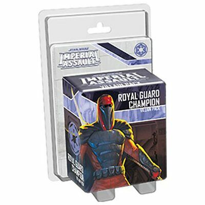 Star Wars Imperial Assault Royal Guard Champion Villain Pack