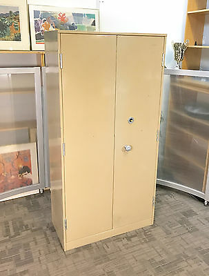 Valuables Stock Cupboards / Secure Metal 2 Door Cupboard - High Security Lock..
