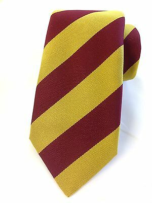 The Royal Regiment Of Fusiliers Regimental Striped Polyester Tie New