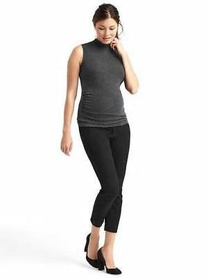 Gap Black Bi Stretch Full Panel Ultra Skinny Ankle Pant-14L-NWT