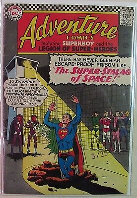 DC Comics - Adventure Comics - #344 - Silver Age -1960s - Superboy - Under Guide