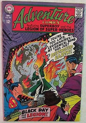 DC Comics - Adventure Comics - #363 - Silver Age -1960s - Superboy - Under Guide