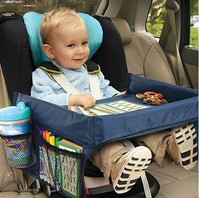 From US Kids Car Seat Snack and Play Travel Tray Table - On the Go Waterproof