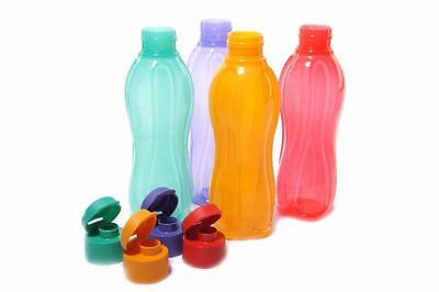 Tupperware Aquasafe Sports Water Bottle - 750 ml (Set of 4)
