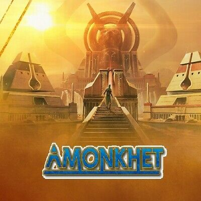 Magic the Gathering Amonkhet AKH Full Complete Set with Mythics Token MTG