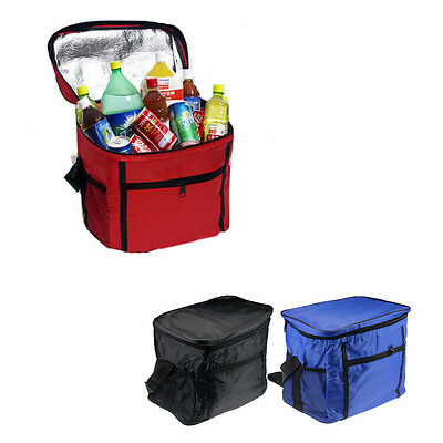 Thermal Cooler Waterproof Insulated Portable Tote Picnic Lunch Bag New