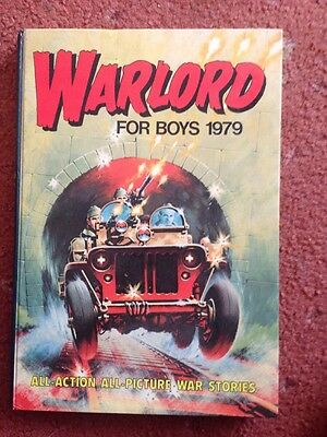 WARLORD ANNUAL BOOK FOR BOYS ANNUAL 1979 Very Good Condition
