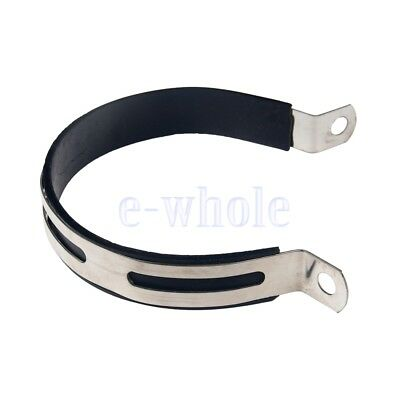 Motorcycle Exhaust Muffler Silencer Can Hanger Hanging Clamp Strap Bracket BE