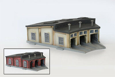 Rokuhan S038 Z Scale Roundhouse (1/220 Z Scale)