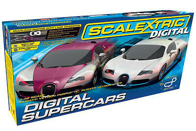 Scalextric 1:32 Scale C1322 Digital Supercars Set *new*