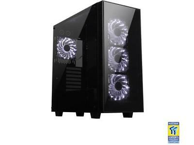 Rosewill CULLINAN-WHITE ATX Mid Tower Gaming Case With Tempered Glass Panels