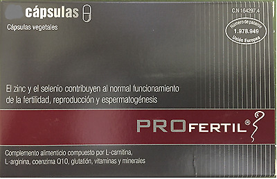 PROFERTIL 180 capsules MALE FERTILITY  FREE SHIPPING !!!!
