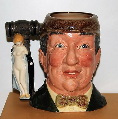 Large Royal Doulton Character Toby Jug Auctioneer D6838 *special Edition Signed*