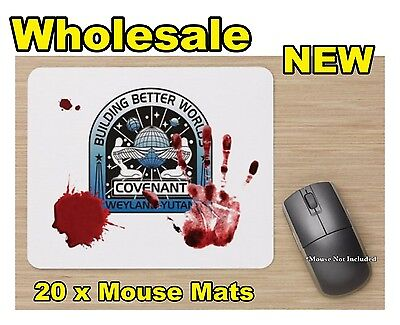 Wholesale Alien Covenant Gory Bloody Stained Printed 20x Standard Mouse Mat New
